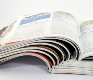 ▲商品パンフレットを教科書に活用