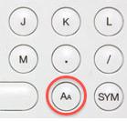 ▲AAボタンを押す
