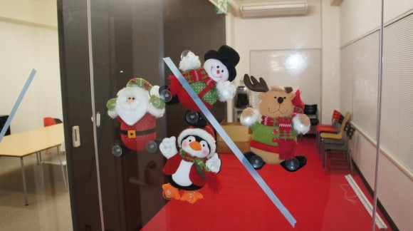 これは、かわいらしい。クリスマスっぽいですね