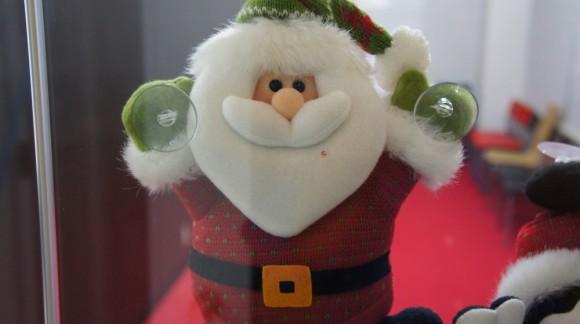 サンタさん、かわい~。