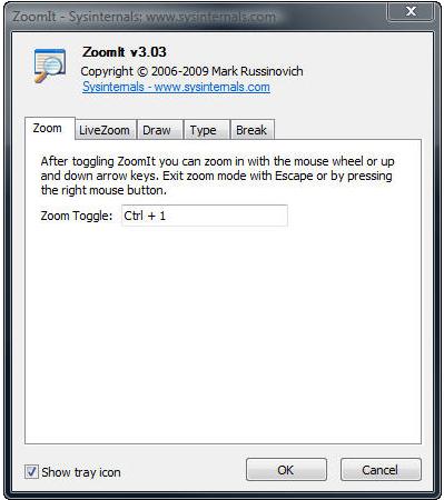 ▲ZoomItの操作説明画面