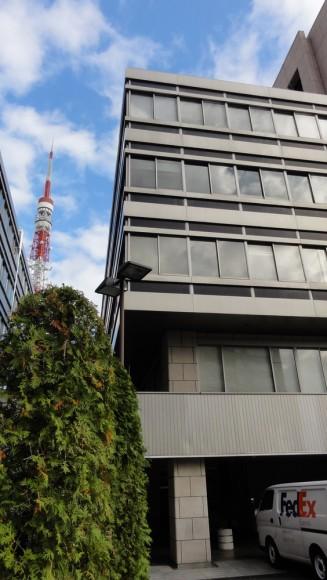 ラジオ日本は、東京タワーすぐ近くのビルの2Fにありました