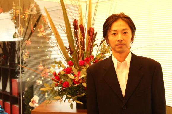 作品は、The Flower Storiesのフラワーデザイナー 小山大蔵さん