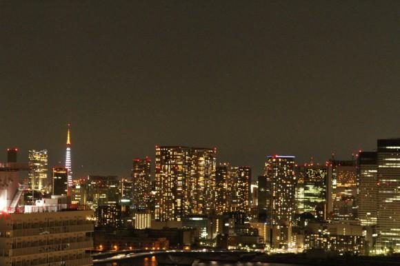 東京タワーと夜景