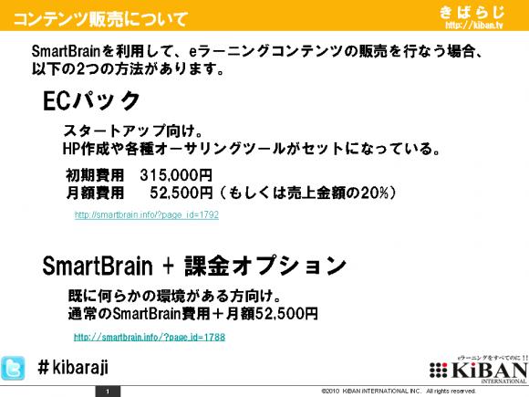 SmartBrain ECパックの詳細 1