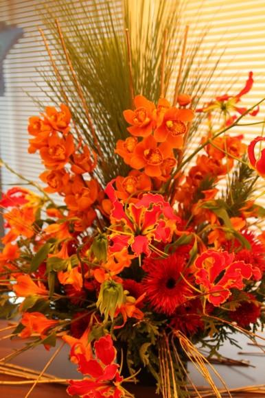パンダスタジオのエントランスの装花(2011年1月4日)写真3