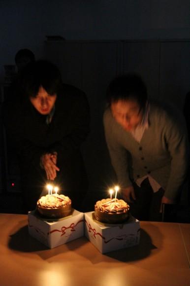 昔は、お祝いに「ドナドナ」を歌っていましたが、最近は、ちゃんとお誕生日ソングを歌います。