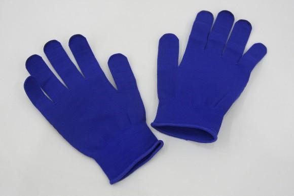 特別プレゼント:ブルー手袋