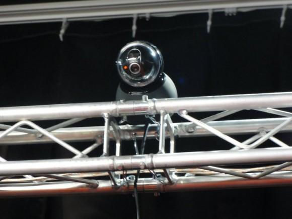 ハイアングルカメラは、USB接続で、PCから全部操作できて便利