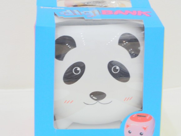 ▲知能型デジタル貯金箱『digiBNAK i-panda』