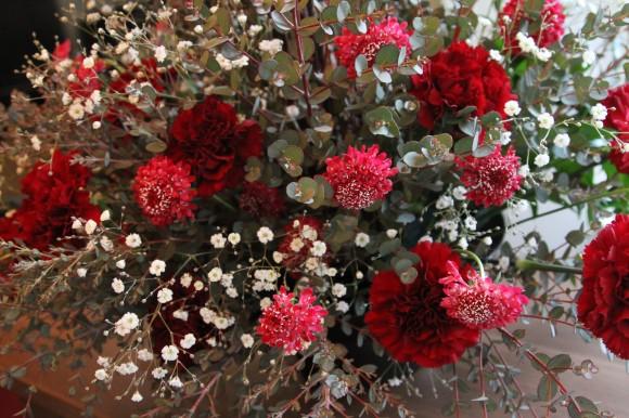 小山大蔵さんの装花作品