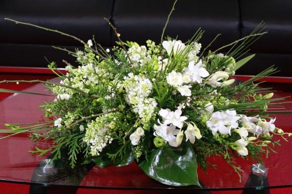 小山大蔵さんの装花作品_綺麗しか言えない