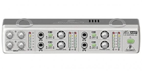 BEHRINGER ( ベリンガー ) / AMP800 MiniAMP フロントパネル