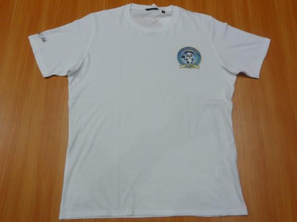 ▲パンダスタジオTシャツ(白)
