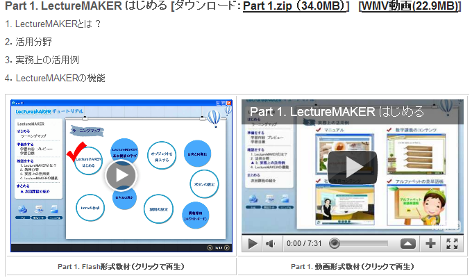 Part 1. LectureMAKER はじめる