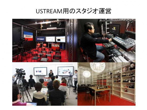 ▲スタジオの運営実績、200番組以上の配信。