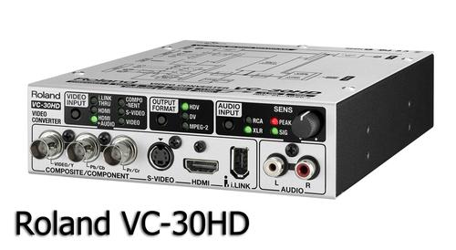 Roland ビデオコンバータ VC-30HD