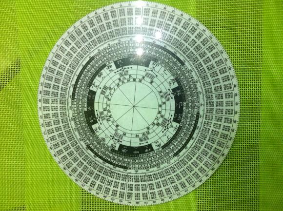 玄空飛星 八宅風水透明羅盤