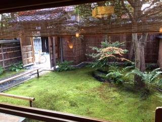 京都下鴨 宝泉堂 本店 お庭