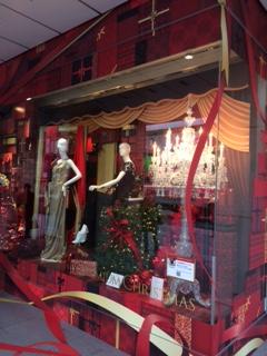 2014年クリスマスディスプレー 銀座松屋