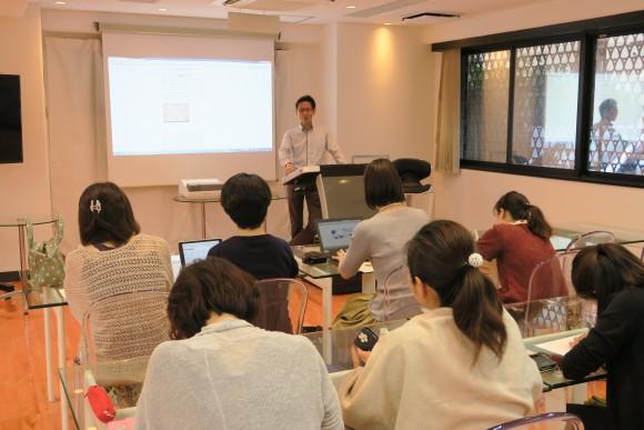勉強会にPOP講師沼澤先生が来てくれました。