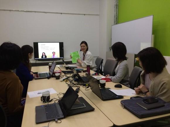 2016/3/9第2回子育てコミュニケーション勉強会の様子