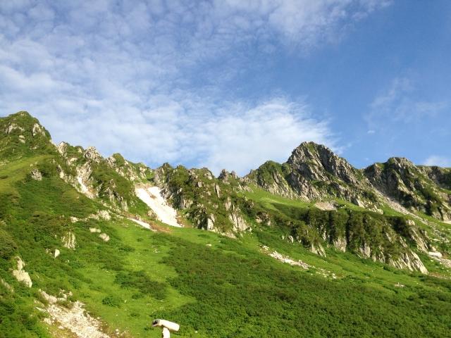 夏の登山(イメージ)
